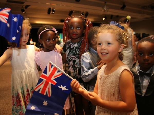 Australia Day celebration moved indoors | AlburyCity