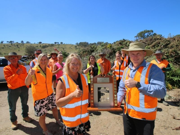 Community praised for sustainability success | AlburyCity