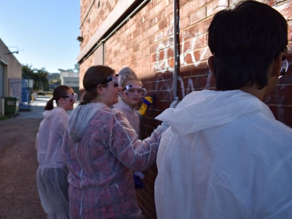 Youth Council tackles graffiti | AlburyCity
